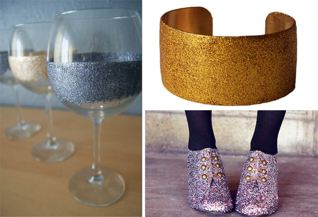 Glitterize Anything With Mod Podge and Glitter