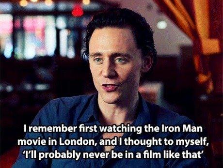 Happy Birthday to the wonderfully talented Tom Hiddleston