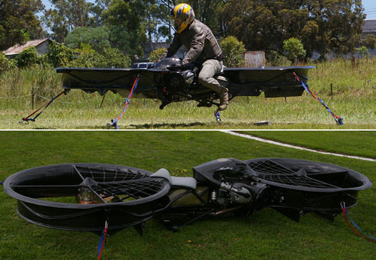 Hoverbikes are a reality now