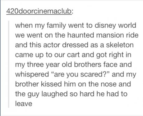 I enjoy reading people's little life stories