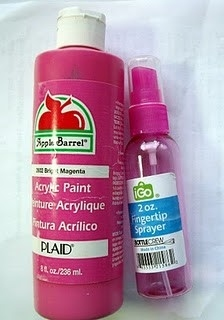 Make Your Own Spray Paint