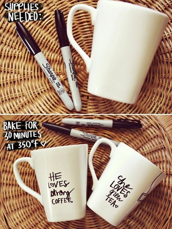 Make a Sharpie Mug