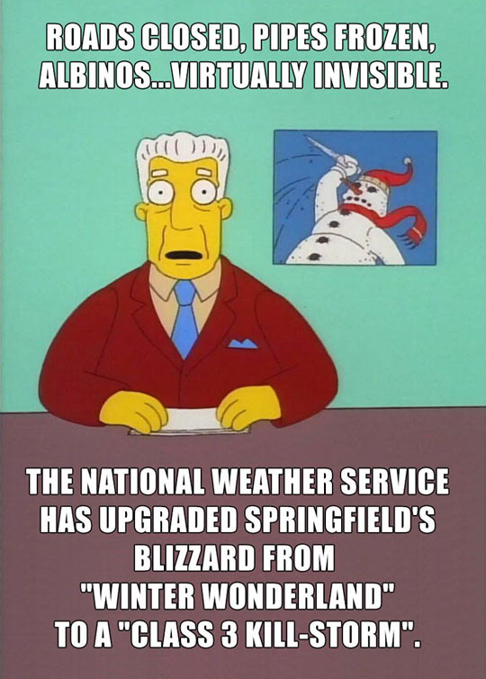 The forecast for many of us out there today