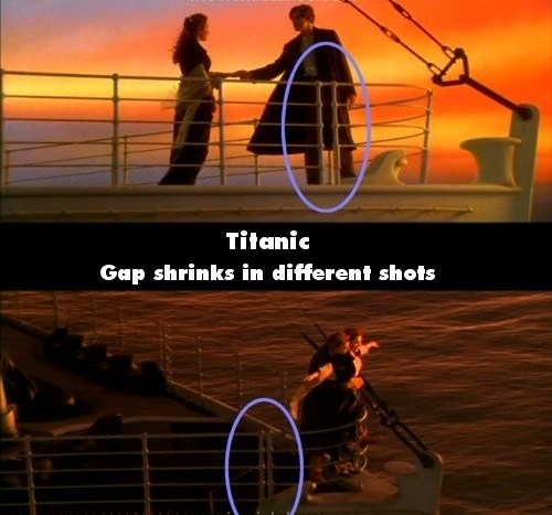 Titanic-Mistakes