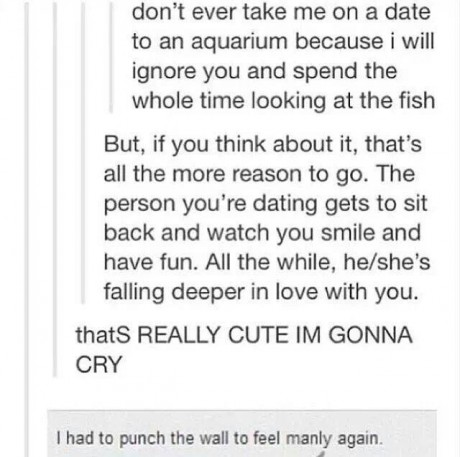 To be fair fish are cool