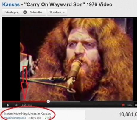 Yer a Wayward Son, 'arry.