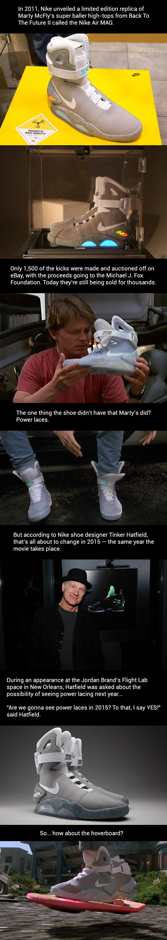 Back To The Future Power Laces For 2015…
