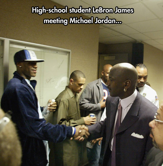 The two greatest players…