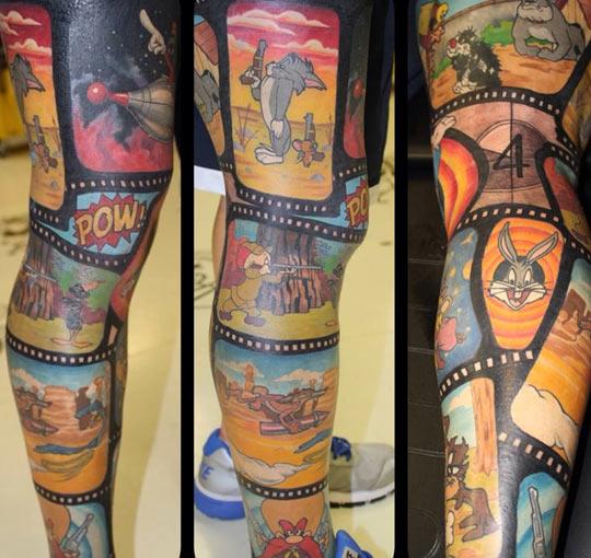 Looney tattoo…