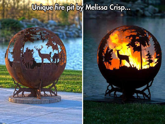 The safest and prettiest forest fire…