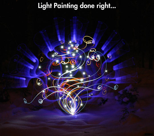 Jeremy Jackson's light painting…