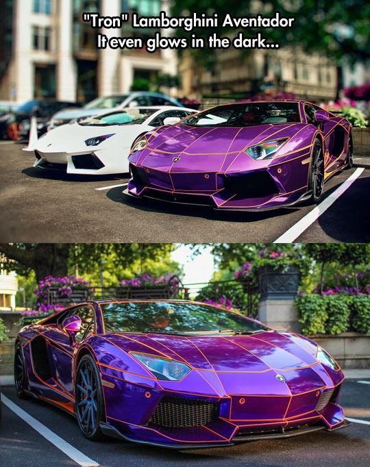 Tron Lamborghini Aventador…