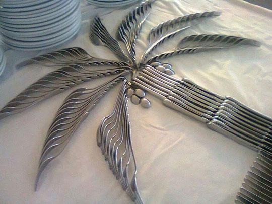 Cool cutlery art…