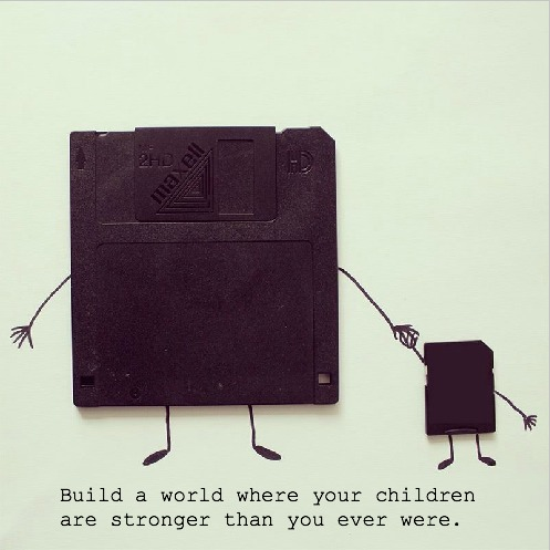 And share your memories with them…