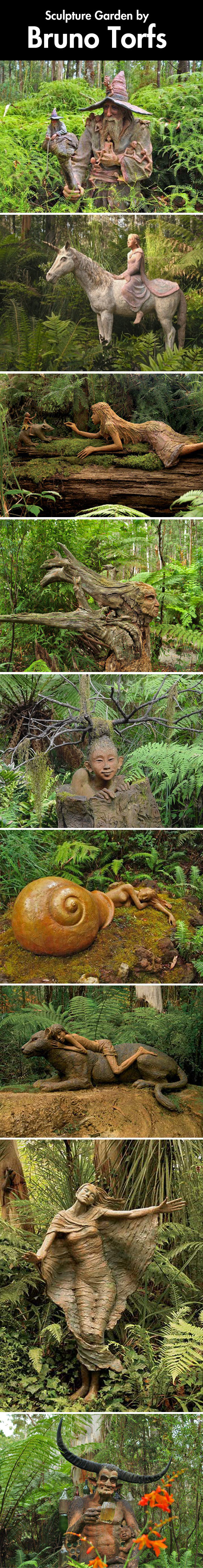 Carved in a forest…