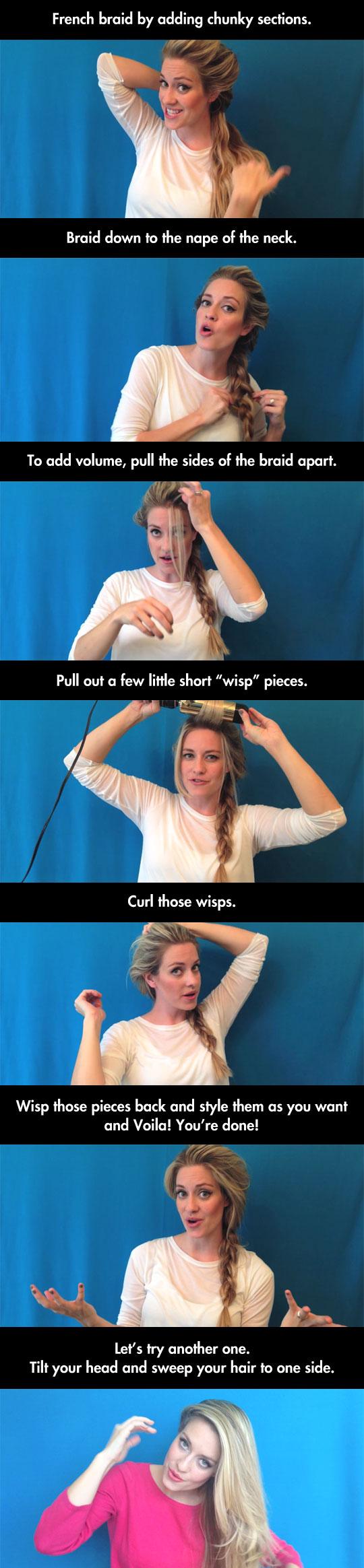 cool-hair-style-Frozen-Elsa-DIY-styling