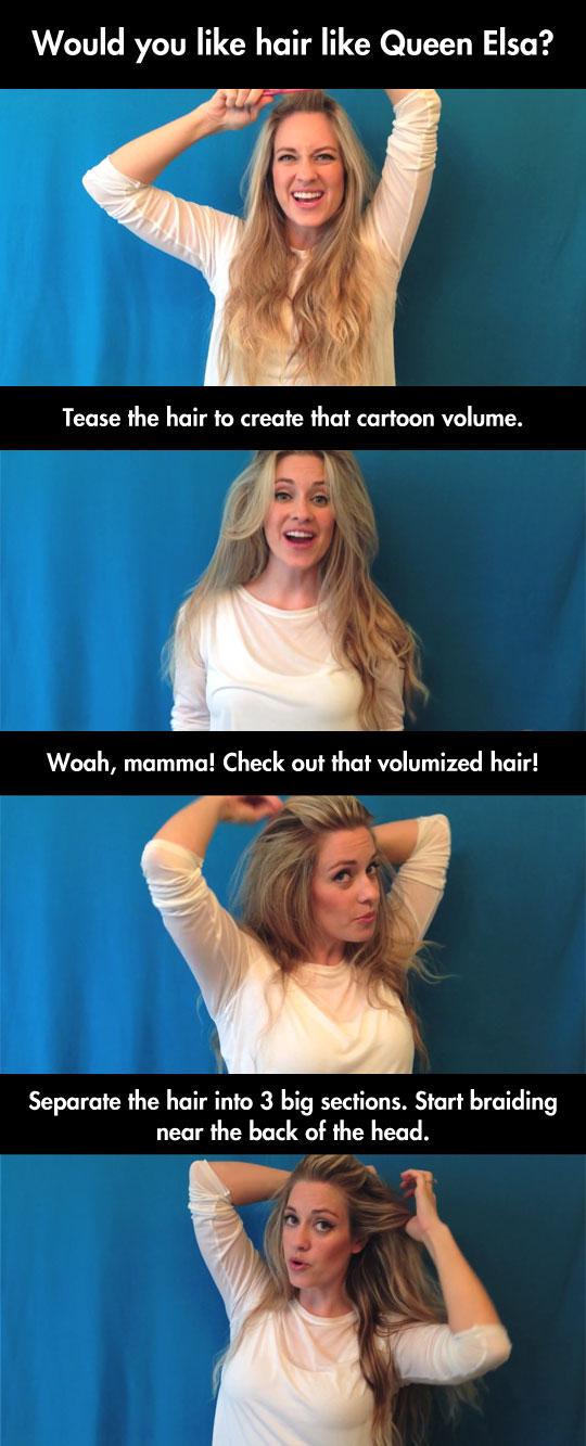 cool-hair-style-Frozen-Elsa-DIY