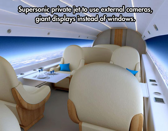 Amazing private jet design…