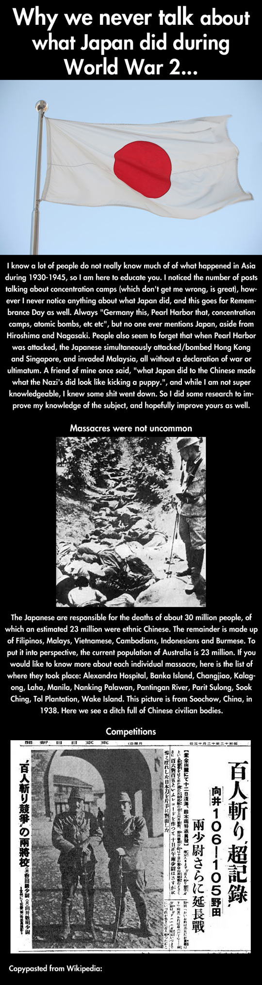 Did you know what Japan did in World War II...