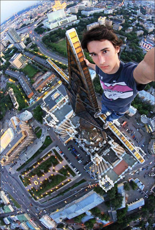 Now that's a selfie…