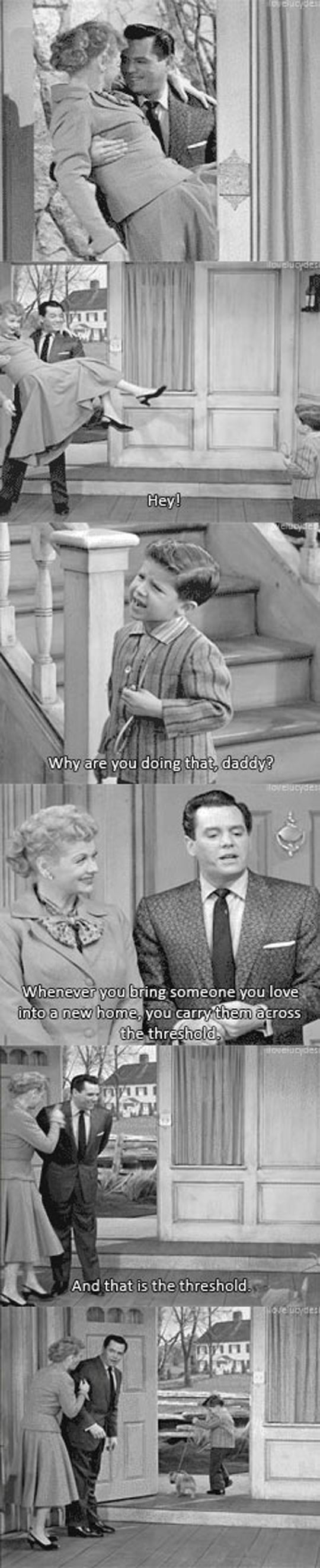I Love Lucy...