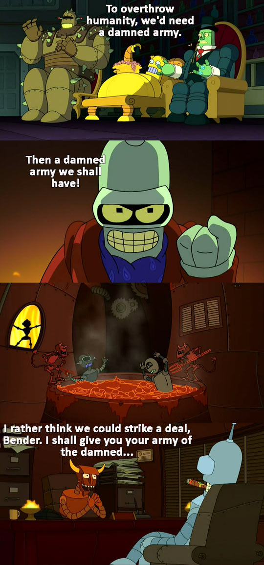 That damned Bender...