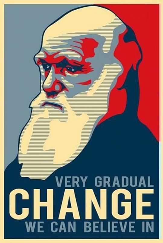 funny-Darwin-poster-change-believe