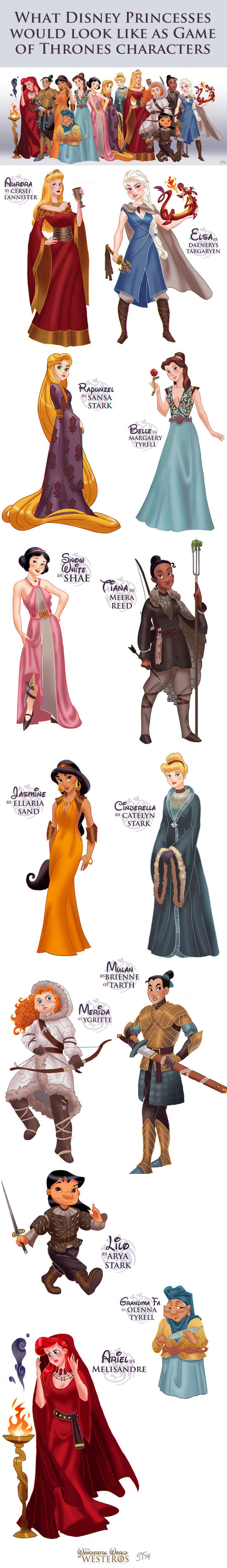 The Disney version of Game of Thrones…