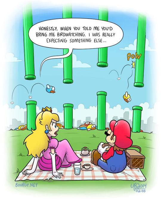 Wrong Move Mario