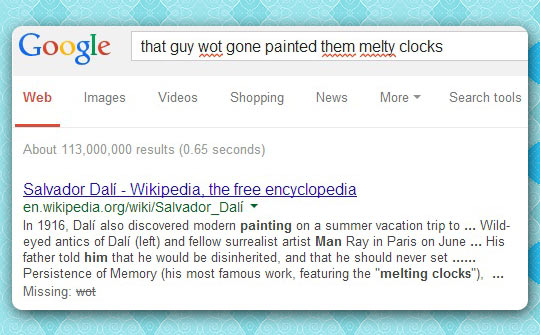 Google doesn't get enough credit sometimes…