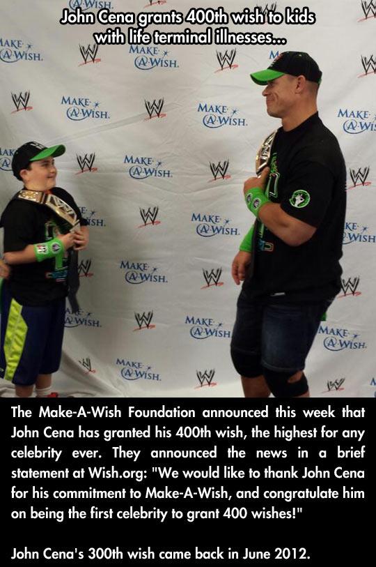 John Cena is the man…