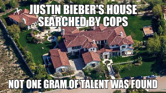 funny-Justin-Bieber-house-searched-cops