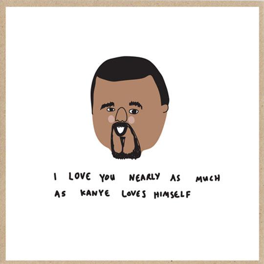 Kanye love…