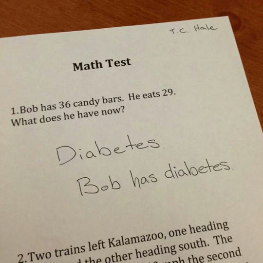 Applying math to real life…