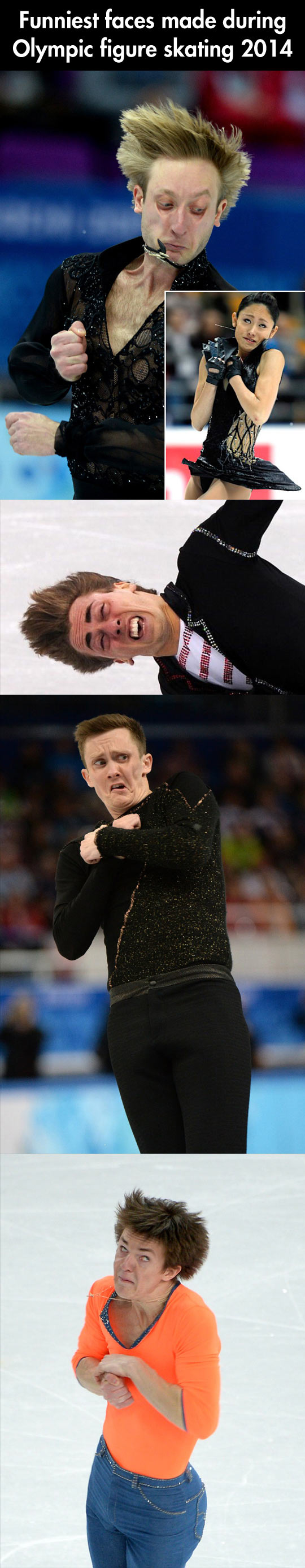 Winter Olympics faces...