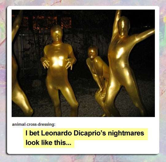 Stop teasing him, Oscars…