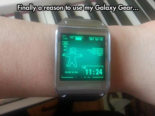 Finally a good reason…