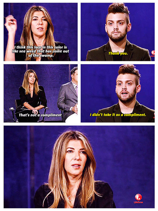 funny-Project-Runway-compliment-criticism