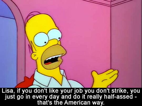 funny-Simpsons-Homer-job-Lisa-strike