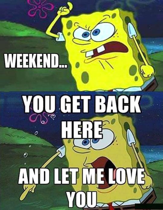 funny-SpongeBob-weekend-sea-love