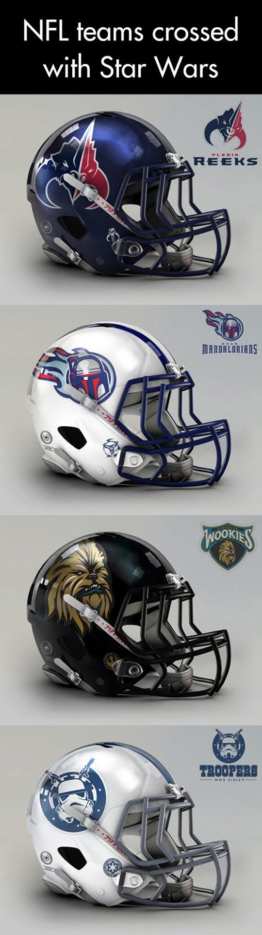 NFL meets Star Wars...