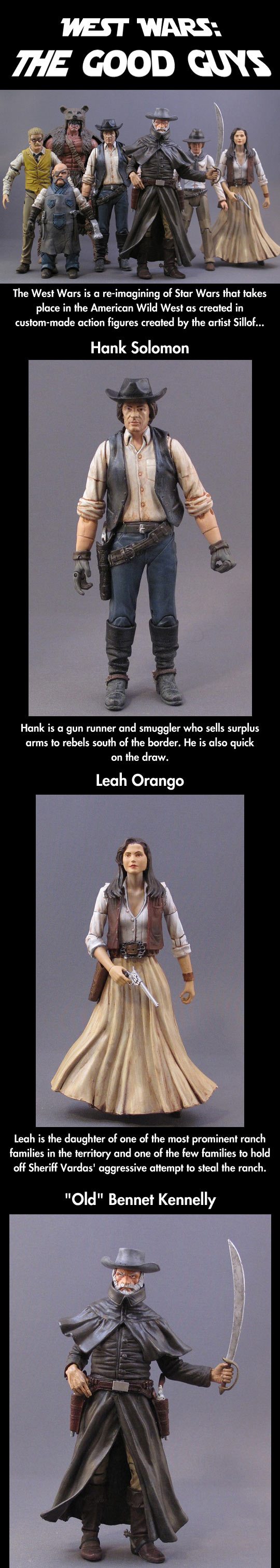 Re-imagining Star Wars in the far west...