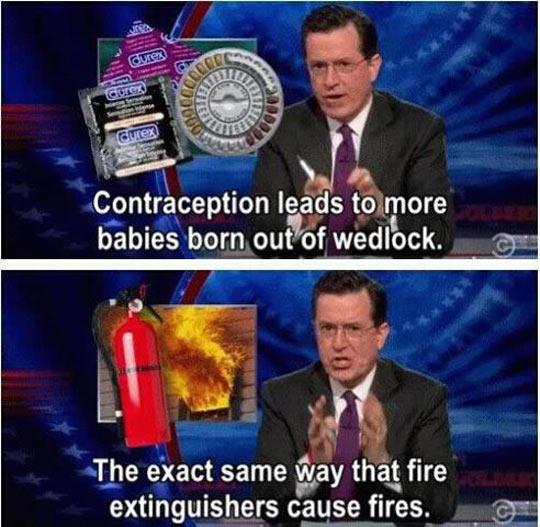 Colbert knows what's up down there…