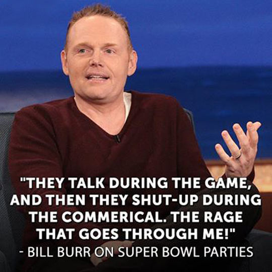 Super Bowl parties…
