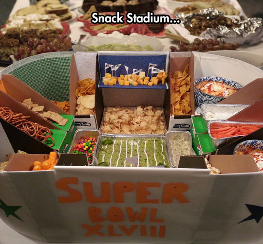 This is my kind of Superbowl…
