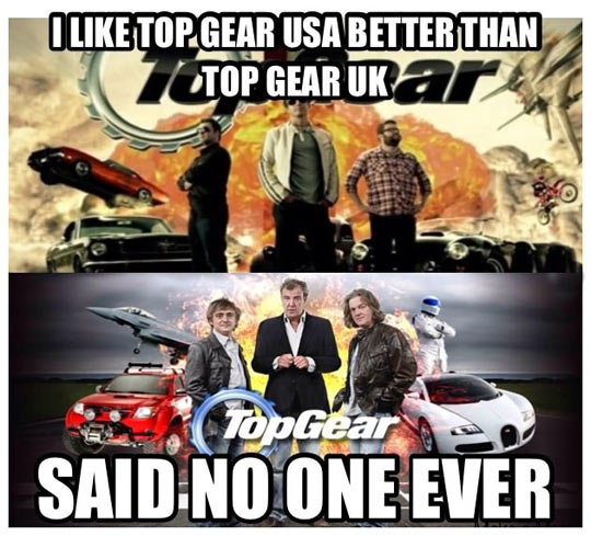 top gear uk vs top gear usa. Black Bedroom Furniture Sets. Home Design Ideas