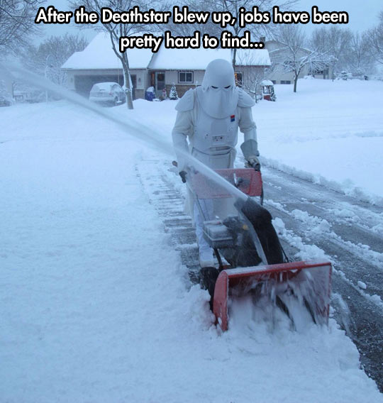 Snowtroopers work expectations…