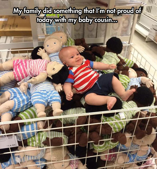 IKEA babies are cheaper, but require some assembling…