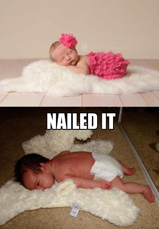 Really nailed it…