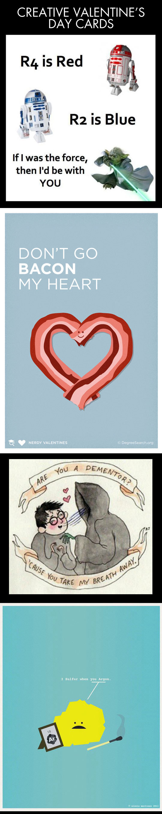 Cool cards for your Valentine...